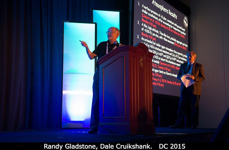 Randy Gladstone and Dale Cruikshank.<br /> <br /> Credit: Henry Throop<br /> Oct 2015<br /> DPS47 National Harbor