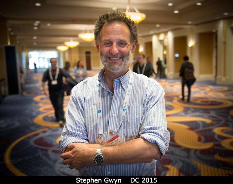 Stephen Gwyn (NRC Herzberg).<br /> <br /> Credit: Henry Throop<br /> Oct 2015<br /> DPS47 National Harbor