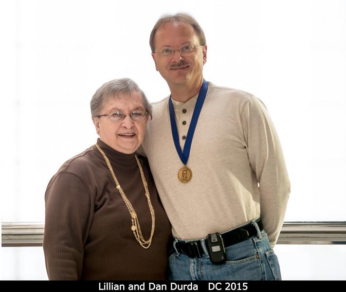 Lillian and Dan Durda.<br /> <br /> Credit: Henry Throop<br /> Oct 2015<br /> DPS47 National Harbor