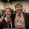 Kara Hartig (Brown) and Michael Skrutskie (UVA).<br /> <br /> Credit: Henry Throop<br /> Oct 2015<br /> DPS47 National Harbor