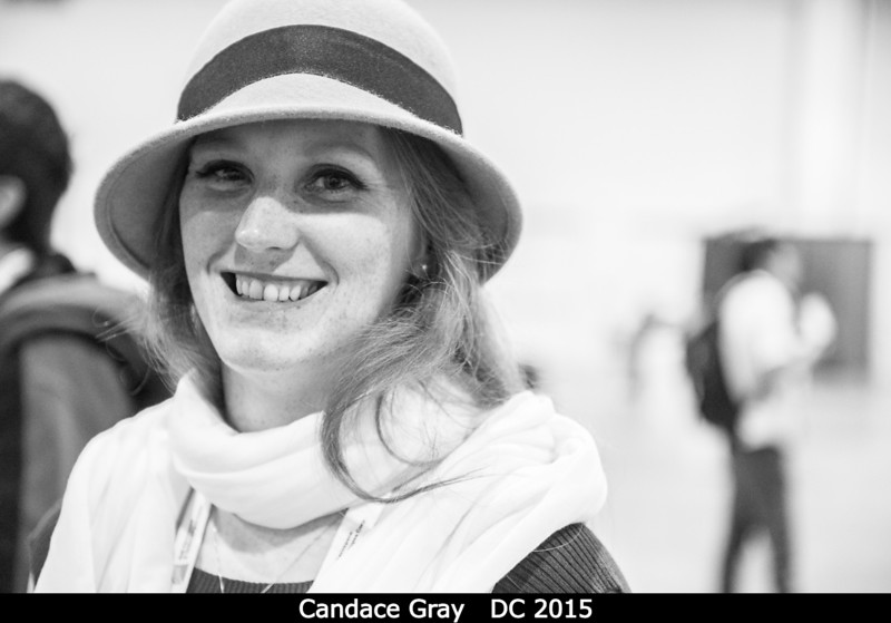 Candace Gray.<br /> <br /> Credit: Henry Throop<br /> Oct 2015<br /> DPS47 National Harbor