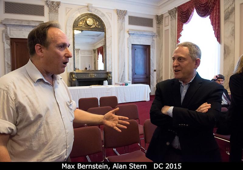 Max Bernstein (NASA HQ) and Alan Stern.<br /> <br /> Credit: Henry Throop<br /> Oct 2015<br /> DPS47 National Harbor