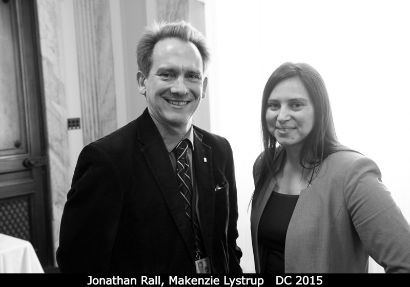 Jonathan Rall and Makenzie Lystrup.<br /> <br /> Credit: Henry Throop<br /> Oct 2015<br /> DPS47 National Harbor