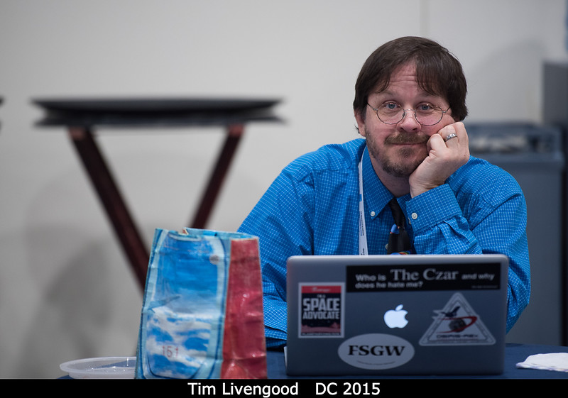 Tim Livengood (GSFC).<br /> <br /> Credit: Henry Throop<br /> Oct 2015<br /> DPS47 National Harbor