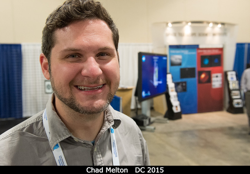 Chad Melton.<br /> <br /> Credit: Henry Throop<br /> Oct 2015<br /> DPS47 National Harbor