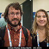 Simon Porter and Erika Barth (both SwRI).<br /> <br /> Credit: Henry Throop<br /> Oct 2015<br /> DPS47 National Harbor