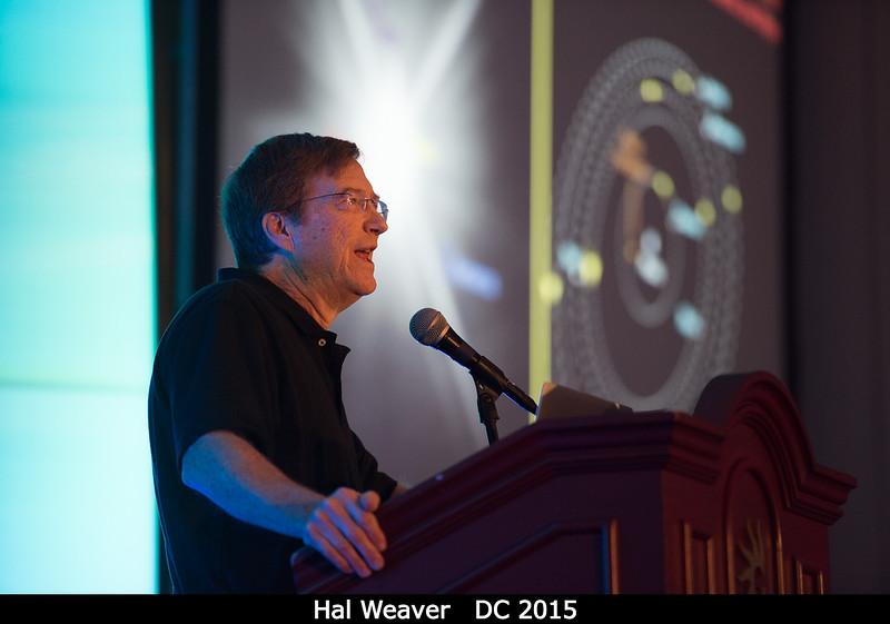 Project Scientist Hal Weaver (APL) talks small moons.<br /> <br /> Credit: Henry Throop<br /> Oct 2015<br /> DPS47 National Harbor