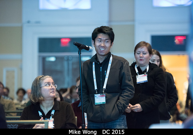 Mike Wong (Caltech). <br /> <br /> Credit: Henry Throop<br /> Oct 2015<br /> DPS47 National Harbor