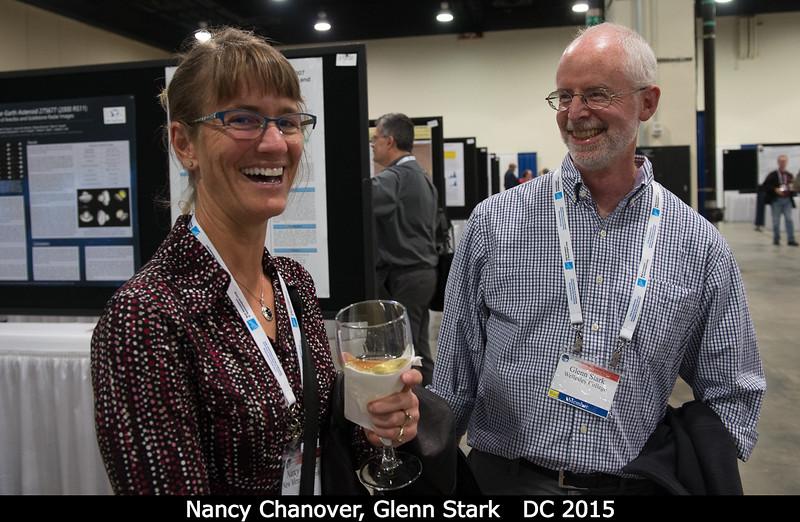 Nancy Chanover (NMSU) and Glenn Stark (Wellesley).<br /> <br /> Credit: Henry Throop<br /> Oct 2015<br /> DPS47 National Harbor