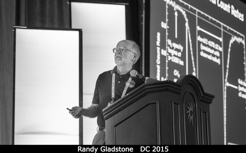 Randy Gladstone (SwRI) discusses stellar occultations from the Alice UV spectrometer.<br /> <br /> Credit: Henry Throop<br /> Oct 2015<br /> DPS47 National Harbor