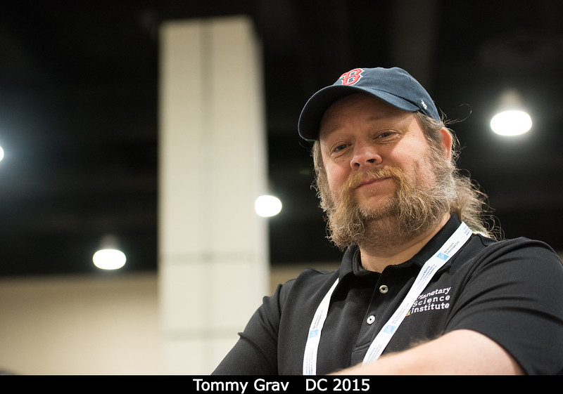 Tommy Grav (PSI).<br /> <br /> Credit: Henry Throop<br /> Oct 2015<br /> DPS47 National Harbor