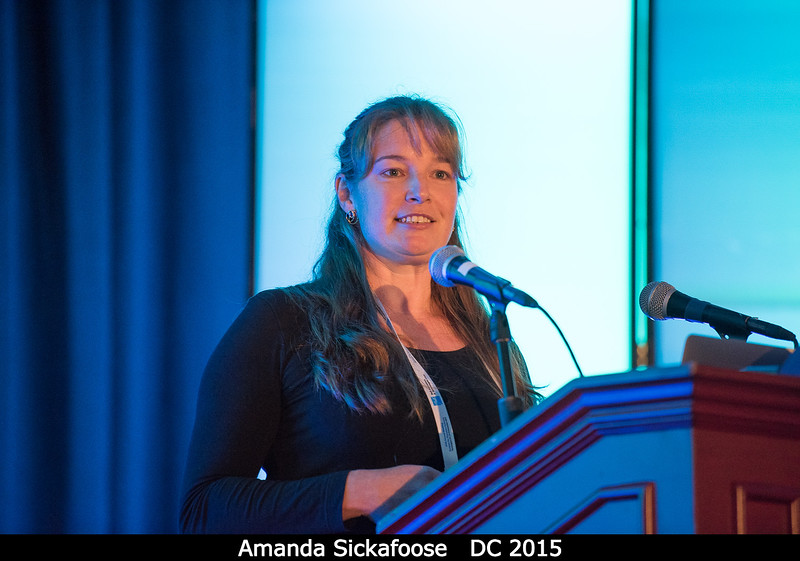 Amanda Sickafoose (South African Astron. Obs.) doesn't need New Horizons to talk about Pluto haze particle sizes from the 2015 occultation.<br /> <br /> Credit: Henry Throop<br /> Oct 2015<br /> DPS47 National Harbor
