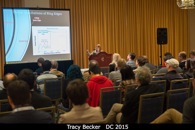 Tracy Becker (UCF).<br /> <br /> Credit: Henry Throop<br /> Oct 2015<br /> DPS47 National Harbor