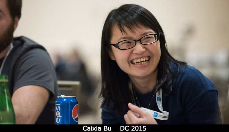 Caixia Bu (UVA).<br /> <br /> Credit: Henry Throop<br /> Oct 2015<br /> DPS47 National Harbor