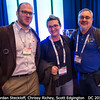 Jordan Steckloff (Purdue, but now PSI), Chrissy Richey (HQ), and Scott Edgington (JPL) are occulted by a strange blue halo.<br /> <br /> Credit: Henry Throop<br /> Oct 2015<br /> DPS47 National Harbor