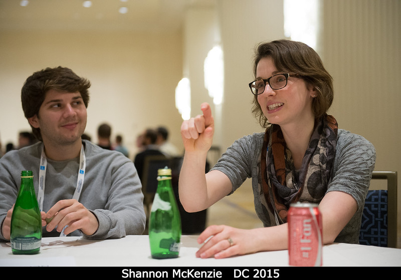 ??? and Shannon McKenzie<br /> <br /> Credit: Henry Throop<br /> Oct 2015<br /> DPS47 National Harbor