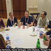 Peter Gao (Caltech), Victoria Hartwick, Kayla DeVogel (NMSU), John Blalock (speaking, at center), ?, Morgan Rehnberg (far right).<br /> <br /> Credit: Henry Throop<br /> Oct 2015<br /> DPS47 National Harbor