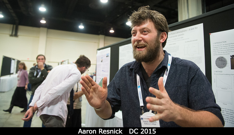 Aaron Resnick.<br /> <br /> Credit: Henry Throop<br /> Oct 2015<br /> DPS47 National Harbor