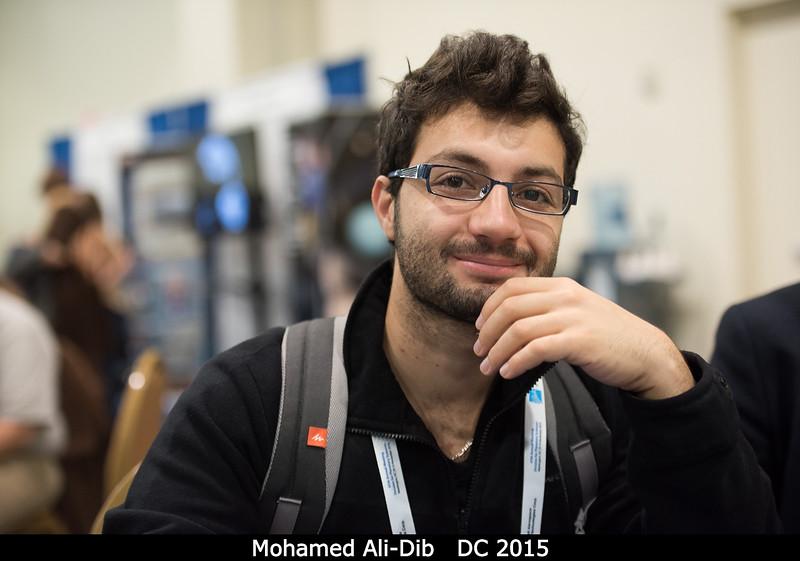 Mohamed Ali-Dib (U. Toronto)<br /> <br /> Credit: Henry Throop<br /> Oct 2015<br /> DPS47 National Harbor