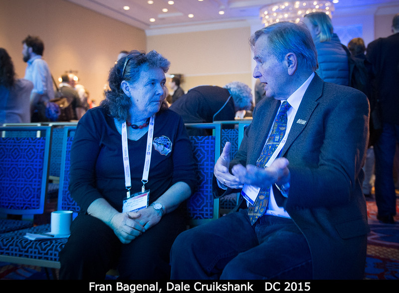 Fran Bagenal, Dale Cruikshank.<br /> <br /> Credit: Henry Throop<br /> Oct 2015<br /> DPS47 National Harbor