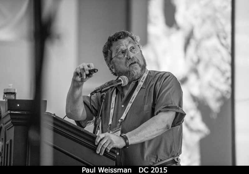 Paul Weissman.<br /> <br /> Credit: Henry Throop<br /> Oct 2015<br /> DPS47 National Harbor
