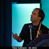 Peter Kollmann (APL) talks about SWAP results at Pluto.<br /> <br /> Credit: Henry Throop<br /> Oct 2015<br /> DPS47 National Harbor