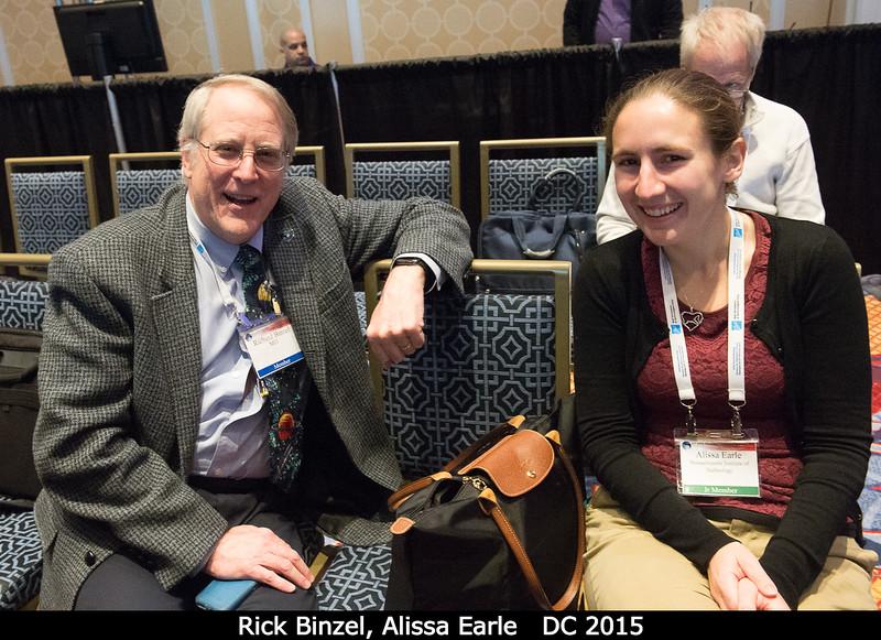 Rick Binzel and Alissa Earle (both MIT).<br /> <br /> Credit: Henry Throop<br /> Oct 2015<br /> DPS47 National Harbor