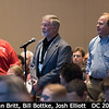 Dan Britt (UCF) and Bill Bottke (SwRI), along with AAS volunteer Josh Elliott.<br /> <br /> Credit: Henry Throop<br /> Oct 2015<br /> DPS47 National Harbor