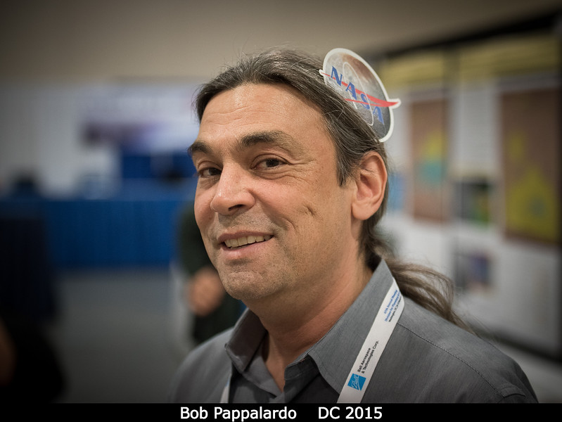 Bob Pappalardo (JPL).<br /> <br /> Credit: Henry Throop<br /> Oct 2015<br /> DPS47 National Harbor