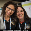 Silvia Protopapa (UMD) and Carly Howett reunite after many weeks together in the Composition team room at the New Horizons encounter.<br /> <br /> Credit: Henry Throop<br /> Oct 2015<br /> DPS47 National Harbor