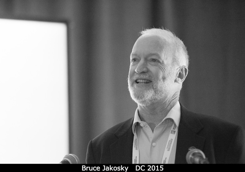 Bruce Jakosky (U. Colorado) talks MAVEN.<br /> <br /> Credit: Henry Throop<br /> Oct 2015<br /> DPS47 National Harbor