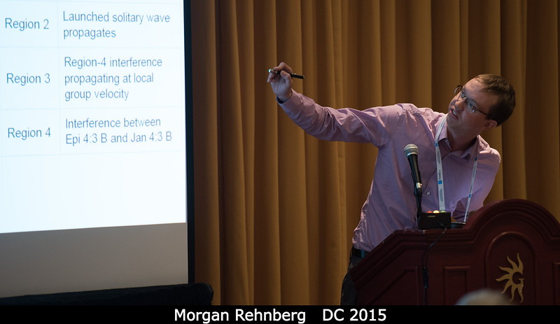 Morgan Rehnberg (U. Colorado) in the Planetary Rings session. <br /> <br /> Credit: Henry Throop<br /> Oct 2015<br /> DPS47 National Harbor