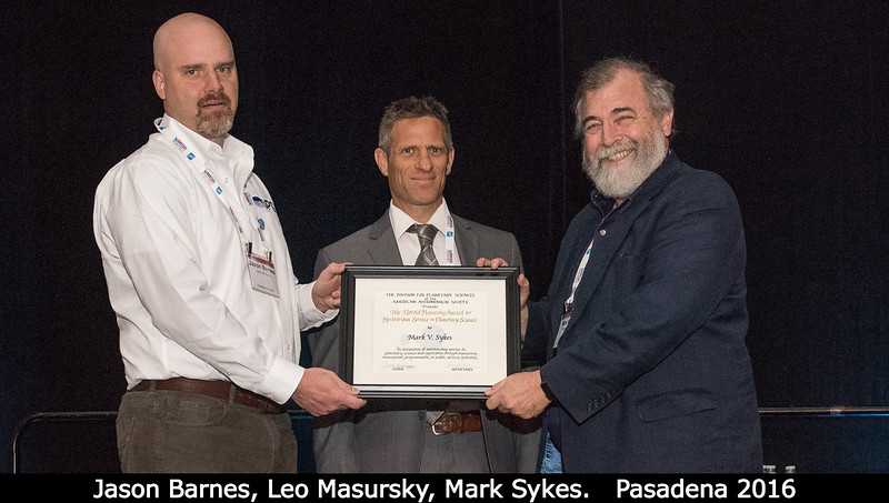 Harold Masursky Award for Meritorious Service to Planetary Science