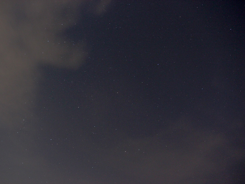 Cassiopeia and Pegasus from Provo