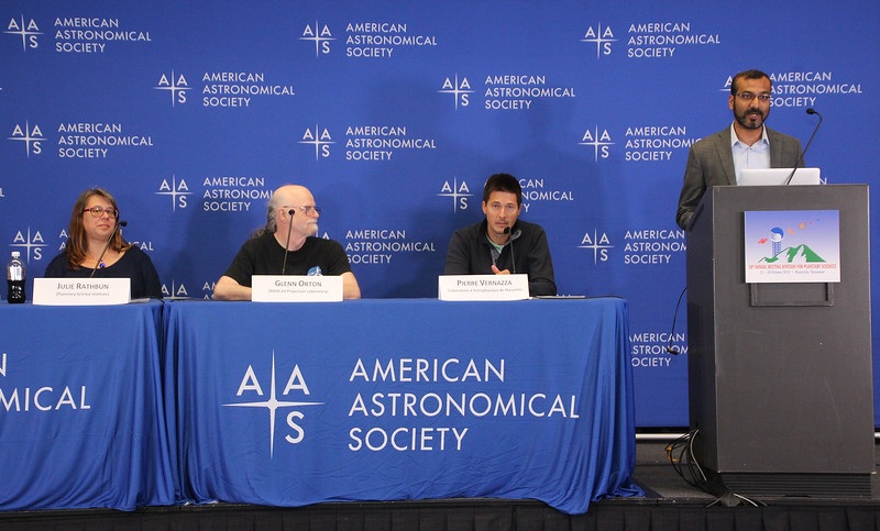 Monday Press Conference: Europa, Jupiter, and Big Asteroids