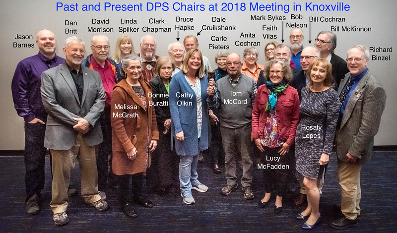 Past and Present DPS Chairs