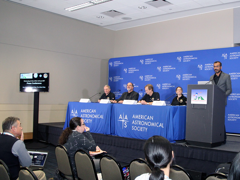 Press Conference: New Horizons Beyond Pluto: The Ultima Flyby