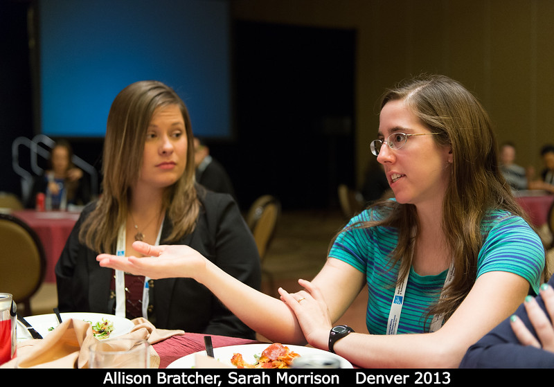 Allison Bratcher (UCF) and Sarah Morrison (LPL) discuss the role of the recent government shutdown on science.<br /> <br /> Credit: Henry Throop<br /> Oct 2013<br /> DPS45 Denver