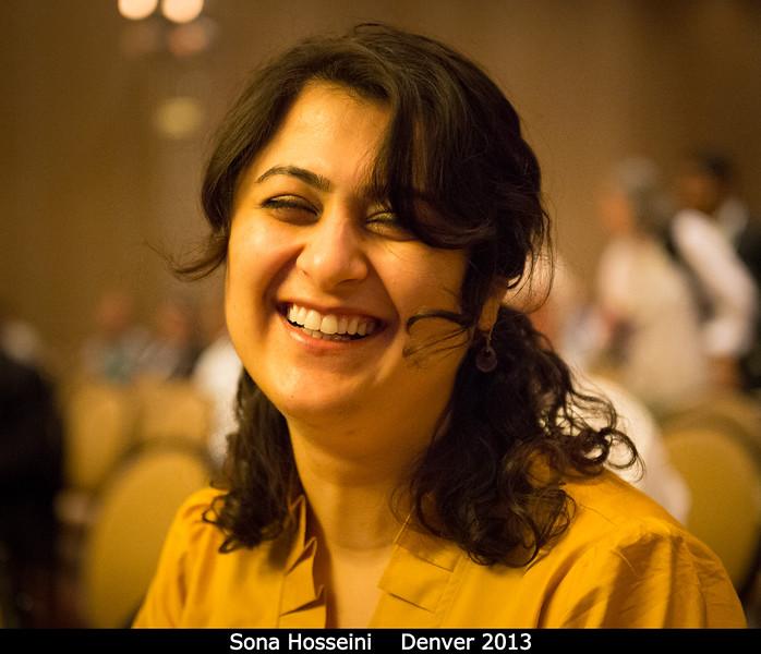Sona Hosseini (UC Davis).<br /> <br /> Credit: Henry Throop<br /> Oct 2013<br /> DPS45 Denver