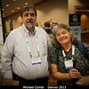 Michael Combi (UMich) and Fran Bagenal.<br /> <br /> Credit: Henry Throop<br /> Oct 2013<br /> DPS45 Denver