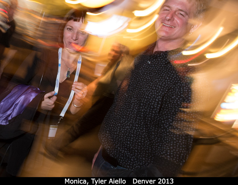 Monica and Tyler Aiello are swept away.<br /> <br /> Credit: Henry Throop<br /> Oct 2013<br /> DPS45 Denver