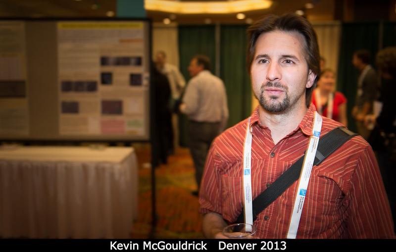 Kevin McGouldrick (LASP).<br /> <br /> Credit: Henry Throop<br /> Oct 2013<br /> DPS45 Denver