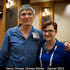 Former and current CDAPS and Origins Emerging Worlds program officers! Henry Throop (PSI) and Chrissy Richey.<br /> <br /> Credit: Henry Throop<br /> Oct 2013<br /> DPS45 Denver