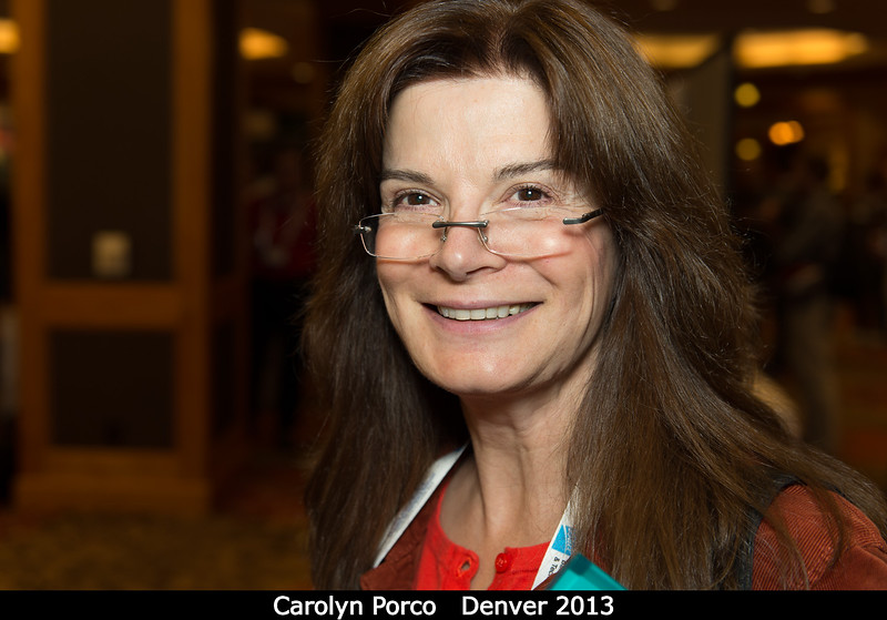 Carolyn Porco (Space Science Institute).<br /> <br /> Credit: Henry Throop<br /> Oct 2013<br /> DPS45 Denver