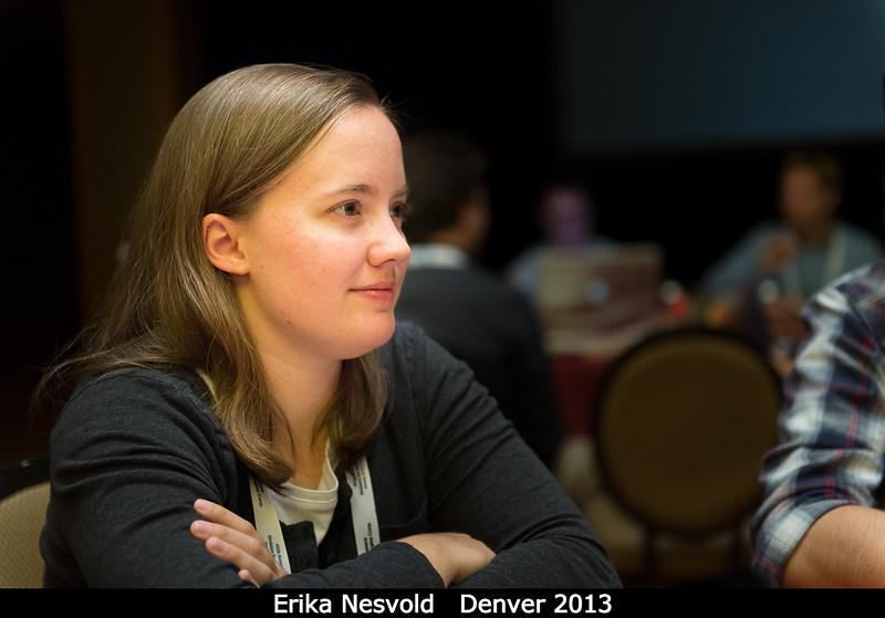 Erika Nesvold (UMBC).<br /> <br /> Credit: Henry Throop<br /> Oct 2013<br /> DPS45 Denver