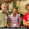 The French dynamics node: Jean-Marc Petit, Sebastien Charnoz, and Francois Poulet (U. Paris-Sud).<br /> <br /> Credit: Henry Throop<br /> Oct 2013<br /> DPS45 Denver