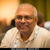 Nalin Samarasinha (PSI) gives me travel tips for Sri Lanka. Sure enough, it turned out that he and I were going to be there at the same time: he to travel home to Colombo in December, and me to go on vacation from South Africa.<br /> <br /> Credit: Henry Throop<br /> Oct 2013<br /> DPS45 Denver