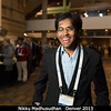 Nikku Madhusudhan (Yale) avoids the buffet line.<br /> <br /> Credit: Henry Throop<br /> Oct 2013<br /> DPS45 Denver