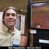 Bob Pappalardo in the Space Art exhibit at DPS. This was a show put together by the International Association of Astronomical Artists (IAAA).<br /> <br /> Credit: Henry Throop<br /> Oct 2013<br /> DPS45 Denver