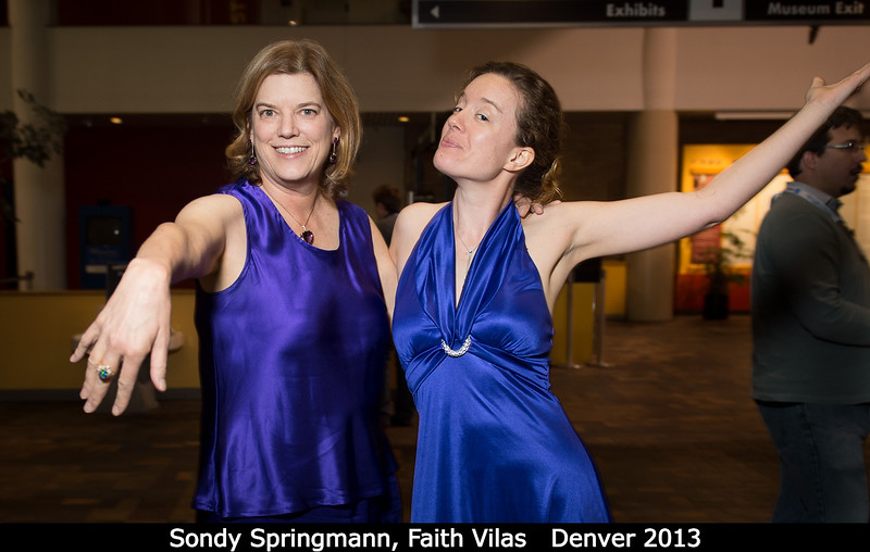 Faith and Sondy...<br /> <br /> Credit: Henry Throop<br /> Oct 2013<br /> DPS45 Denver